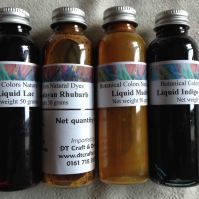 Four Aquarelle dyes