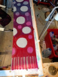 Second layer of dye