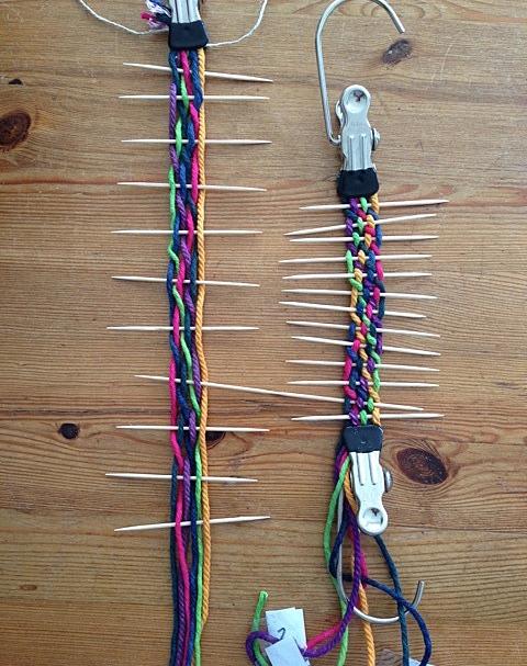Learning methods using coloured string