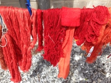 Some good reds drying in the sun