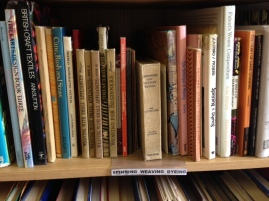 Second-hand textile books