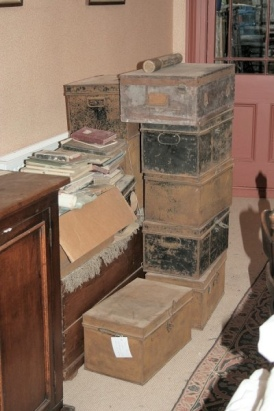 About half the archive in the attic..