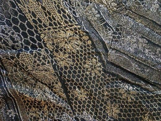 Detail of flapper-type dress