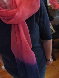 Cochineal and indigo