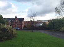 Workers' cottages at Alexandria, Levenside, near old Turkey Red works