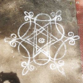 Kolam, Pondicherry